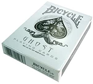 Bicycle Ghost Playing Cards by Ellusionist - White - Thick Stock