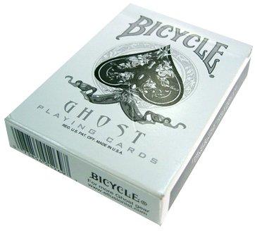 """US Playing Card Company 1269 - Mazzo di carte da gioco (54 carte) """"Bycicle Ghost"""" [importato dalla Francia]"""