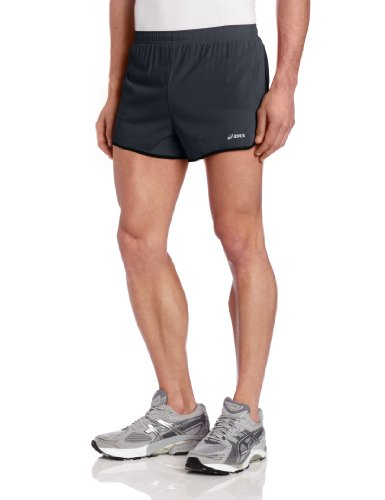 ASICS Asics Men's 3-Inch Split Short, Small, Steel