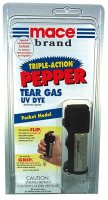 Mace Brand Triple Action Pepper Defense Spray- Pocket Model