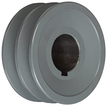 "TB Woods 2AK30118 FHP Bored-To-Size, 3.05"" Outside Body Diameter, 1.125"" Bore Diameter V-Belt Sheave"