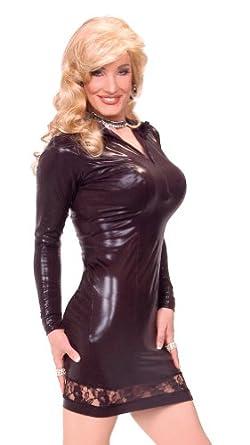Amazon.com: Suddenly Fem Carmen Dress - Small, Black: Adult Exotic