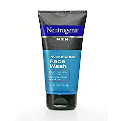 Neutrogena Men Invigorating Face Wash-5.1 oz (Pack of 4)