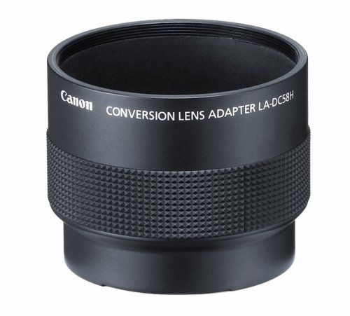 Canon La-Dc58H Conversion Lens Adapter For Canon G7 And G9 Digital Cameras front-517469