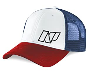 NP Surf Trickster Trucker Hat, Red/White/Blue, One Size