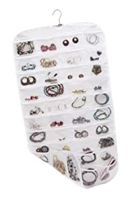 Closet Complete Ultra 80 Pocket Hanging Jewelry Organizer