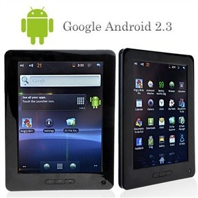 Android 2.3 Tablet PC Samsung Cortex TM-A8 S5PV210 1.2GHz CPU 8 Inch / 4GB HDD/ 512MB DDR2/ Camera/ HDMI/ Black/ White