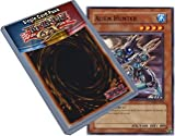Yu Gi Oh : POTD-EN026 Unlimited Edition Alien Hunter Common Card - ( Power of the Duelist YuGiOh Single Card )