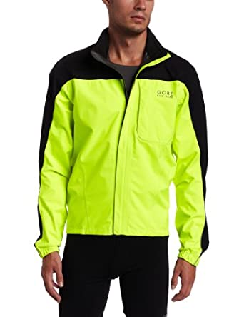 Gore Bike Wear Mens Path Neon Jacket by Gore Bike Wear