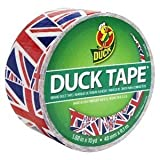 Union Jack Duck Brand Duct Tape, 1.88 Inch by 10 Yards, Single Roll by Duck