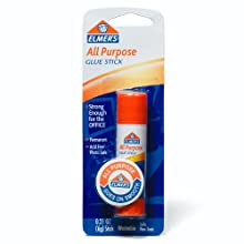 Elmer's All-Purpose Glue Stick, 0.21 oz, Single Stick (E511)