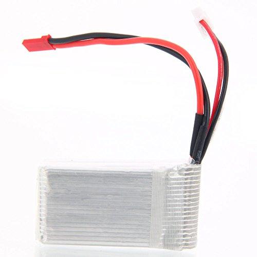 WLtoys Upgraded A949 Spare Part 74V 1200mAh Li-Po Battery Set Compatible with A959 A969 A979 WL911 WL912 V912 V913 V262 L959 T23 T55 F45
