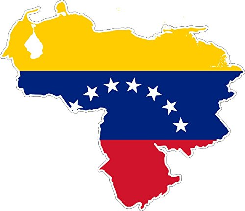Autocollant-sticker-adhesif-voiture-vinyle-drapeau-carte-venezuela