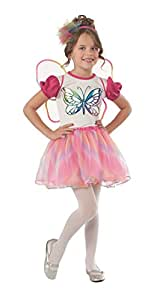Rubies Pink and White Butterfly Costume