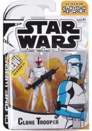 Star Wars Clone Wars Cartoon Network Animated - Clone Trooper Random Color