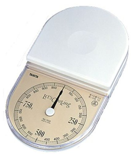 TANITA Fino ?chelle analogique de cuisson blanc 1102 (Japon import / Le paquet et le manuel sont ?crites en japonais)