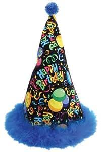 """Chantilly Lane Chantilly Lane Dancing Hat Sings """"Happy Birthday"""" 14"""" Plush"""