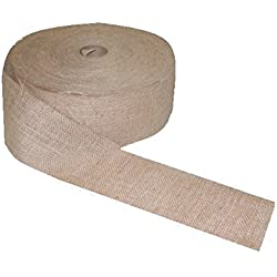 5 inch wide 10 oz Burlap Roll 100 yards