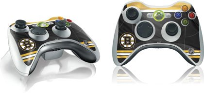 Skinit Boston Bruins Home Jersey Vinyl Skin for 1 Microsoft Xbox 360 Wireless Controller