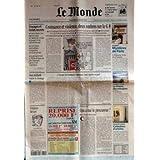 MONDE (LE) [No 17568] du 20/07/2001 - VOYAGES ET FONDS SECRETS - CROISSANCE ET VIOLENCE, DEUX OMBRES SUR LE G...