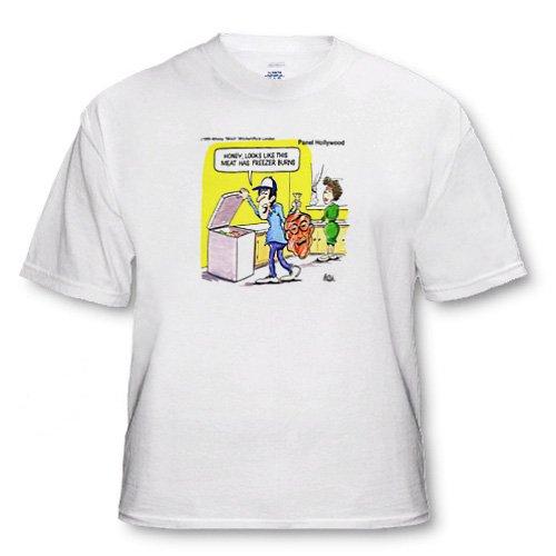 Freezer Burns - Adult T-Shirt XL