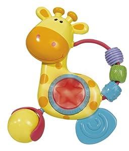 Simba Toys 104014637 ABC - Sonajero en forma de jirafa con luces y sonidos en BebeHogar.com
