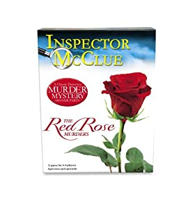 Inspector McClue Murder Mystery Game - The Red Rose Murders