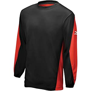 Buy Mizuno Long Sleeve 2 Color Team Top by Mizuno