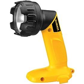 DEWALT DW906  14.4-Volt Cordless Pivoting Head Flashlight