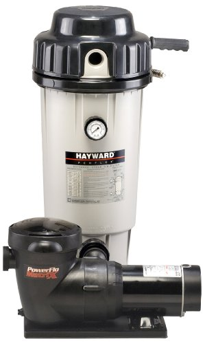 Hayward EC50C93S Perflex 1-1/2-Horsepower Extended-Cycle D.E. Filter Pool System