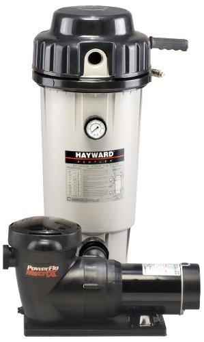 Hayward EC50C93S Perflex 1-1/2-Horsepower Extended-Cycle D.E. Filter Pool System