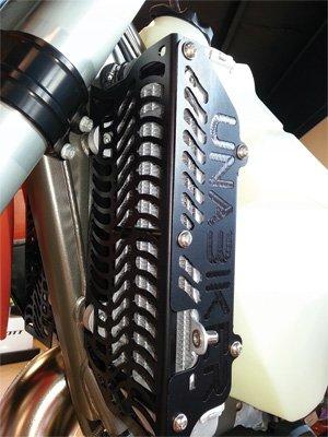 Unabiker Radiator Guards YWR45007-K