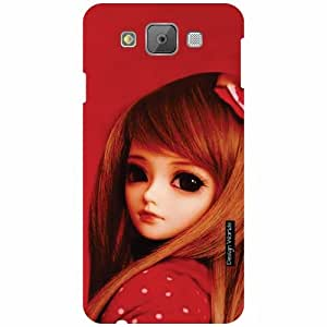 Design Worlds Samsung Galaxy E7 Back Cover - Doll Designer Case and Covers