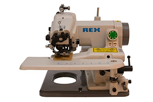 REX RX-518 Portable Blind Stich Machine (Sewing Machine Industrial compare prices)