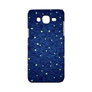 BLUEDIO Designer 3D Printed Back case cover for Samsung Galaxy E7 - G4651