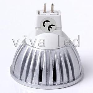 Super Bright Led 6w Cree Gu10 Mr16 Led Spot Light Lamp Bulbs 50w Halogen 12v 110v 120v (Mr16 Warm White)