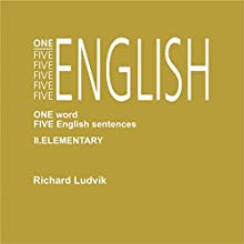 One Five English Elementary (One Five English 2) Audiobook by Richard Ludvik Narrated by Richard Ludvik