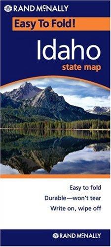 Rand McNally Easy To Fold: Idaho (Laminated) (Rand McNally Easyfinder)