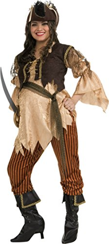 Rubies Womens Maternity Pirate Theme Party Fancy Dress Halloween Costume