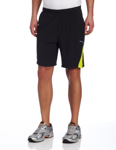 Saucony Saucony Men's Interval 2-1 Short (Black/Sipher, Large)