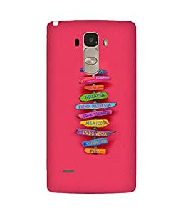 Where To Go Back Cover Case for LG G4 Stylus