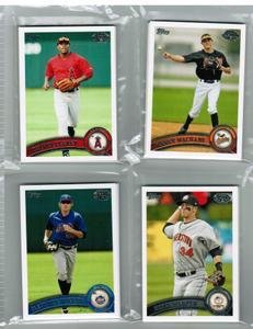 2011 Topps Pro Debut New York Yankees Team Set 14 Cards MINT by Topps