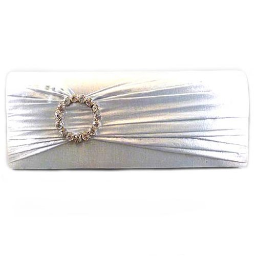 Silver Lame Evening Bag