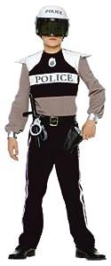 Caritan - Costume - Panoplie Policier - 8-10 ans [Emballage « Déballer sans s'énerver par Amazon »]