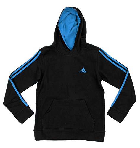adidas-big-boys-youth-game-time-pullover-fleece-hoodie-black-blue