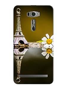 FurnishFantasy 3D Printed Designer Back Case Cover for Asus Zenfone 2 Laser ZE601KL