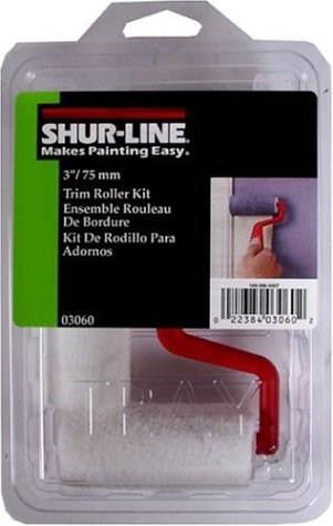 Shur-Line 03060C 3-Inch Trim and Touch Up Roller Kit