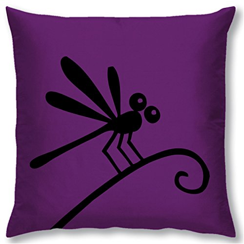 Right Digital Printed Clip Art Collection Cushion Cover RIC0012a-Purple