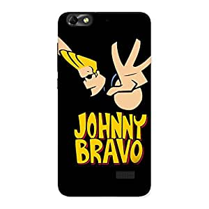Special Brave Black Back Case Cover for Honor 4C