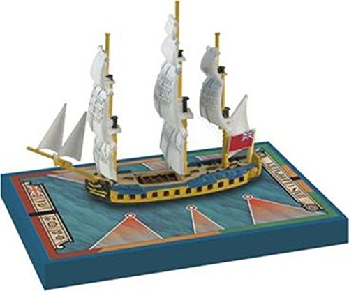 Sails of Glory Ship Pack - HMS Cleopatra 1779 Board Game - 1